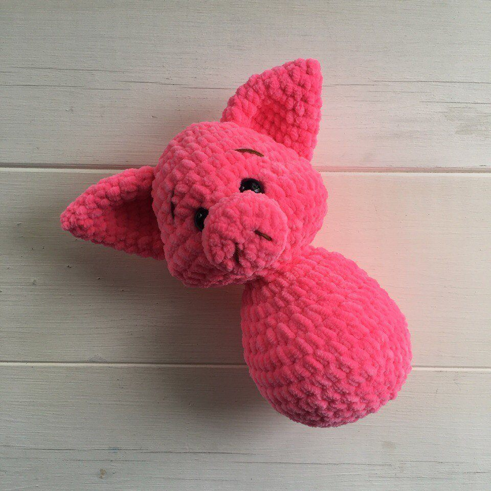 Crochet pig tutorial