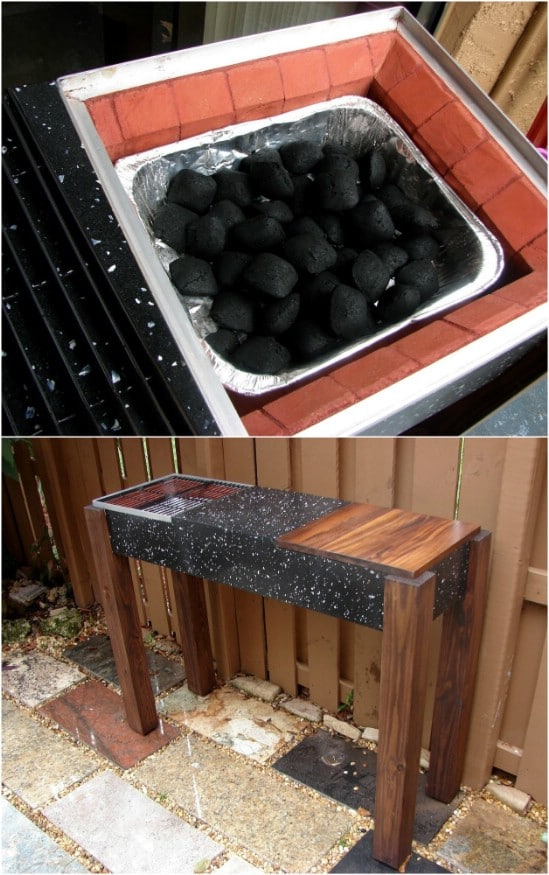 DIY Granite Table Grill