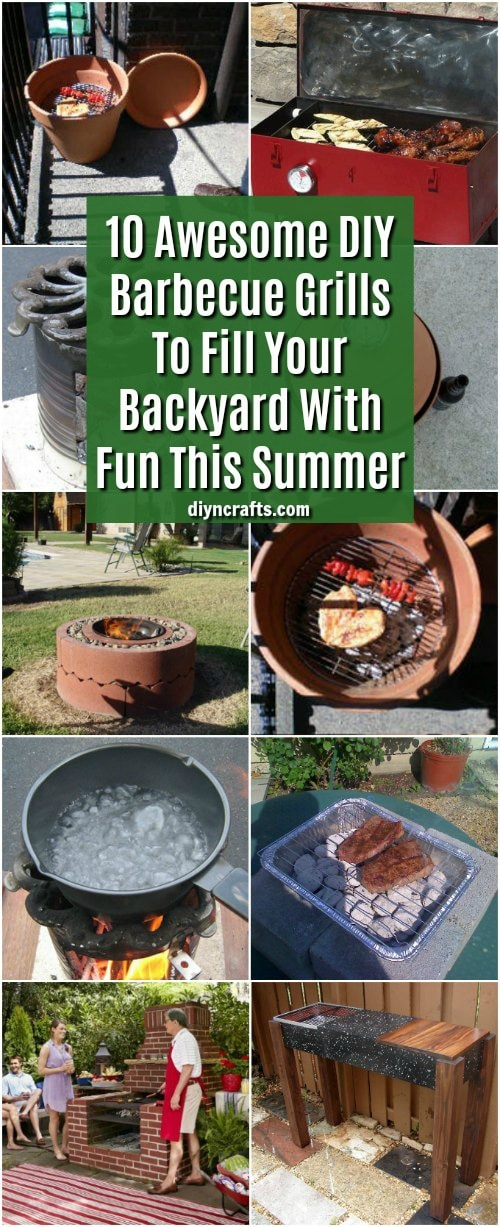 10 Awesome DIY Barbecue Grills To Fill Your Backyard With Fun This Summer