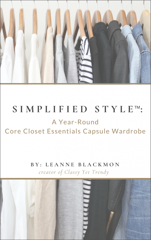 Simplified Style - A Year-Round Core Closet Essentials Capsule Wardrobe