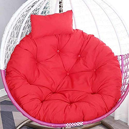 Outdoor Indoor Papasan Cushion Hanging Swing Egg Chair...