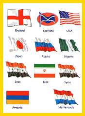 Teach Countries and Flags For Kids