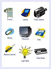 Technology and Communication Vocabulary With Pictures
