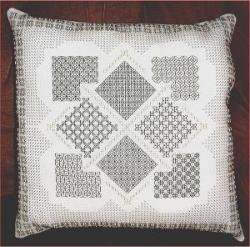 blackwork pillow