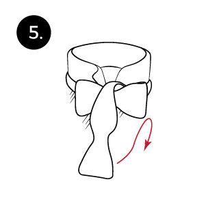How to tie a mens bow tie