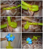 Как сделать собаку из шарика пошагово – Как скрутить собачку из шарика