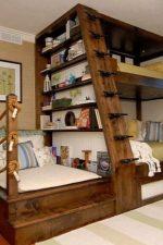 Кровать своими руками из дерева – как сделать деревянную двуспальную кровать из бруса, двухъярусная модель, из досок или из бревен, идеи