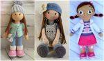 Вязаные куклы крючком мк – Стеша, Мартина, Тильда, Лили, каркассная Тесс. Мастер класс для начинающих