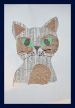 Аппликация котенок – 56 . , — .