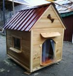 Чем обшить будку для собаки внутри – Утепление будки для собаки и обшивка вагонкой: как сохранить тепло