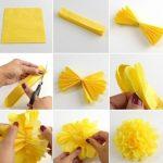 Как сделать самый простой цветок из бумаги – Цветы из бумаги своими руками: схемы и шаблоны