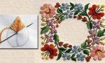 Как вырезать вышивку гладью – Вышивка гладью для начинающих пошагово со схемами