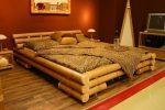 Кровать из бревна своими руками – Как сделать кровать из бревен своими руками?