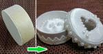 Шкатулка из бобины скотча – Создаем шкатулку для колец из бобины от скотча